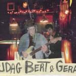 Aankondiging optreden T-Beng in café de Kroeg van Klaas aan de Oosterweg te Groningen
